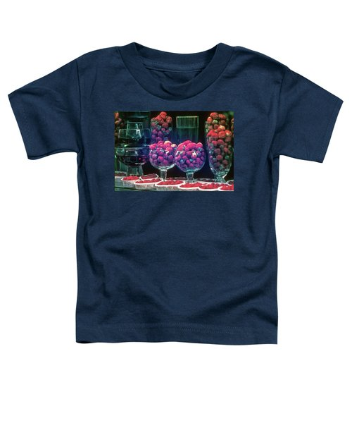 Berries In The Window Toddler T-Shirt