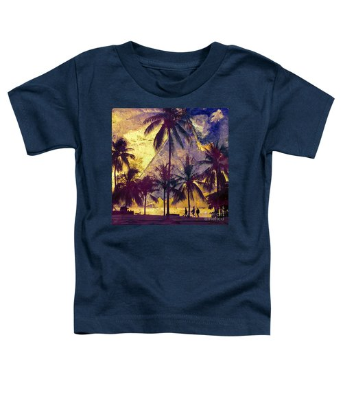 Beside The Sea Toddler T-Shirt