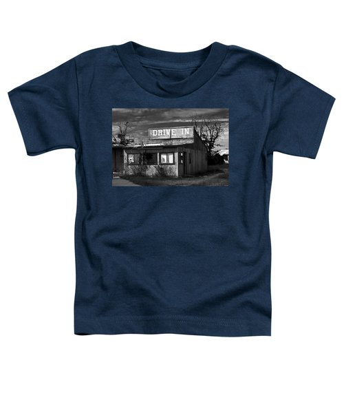Better Days - An Old Drive-in Toddler T-Shirt