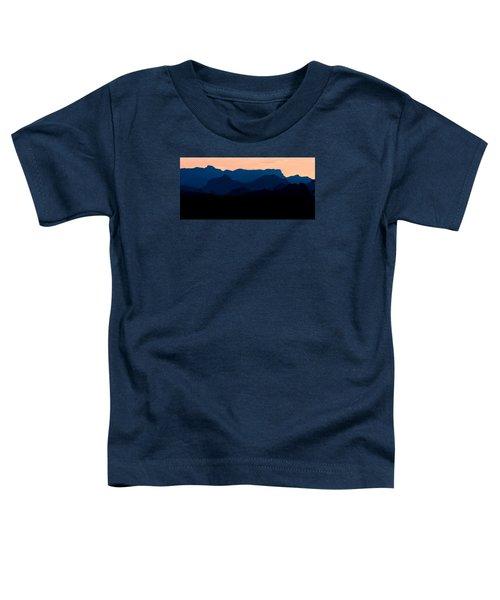 Big Bend Orange Blue Layers Toddler T-Shirt