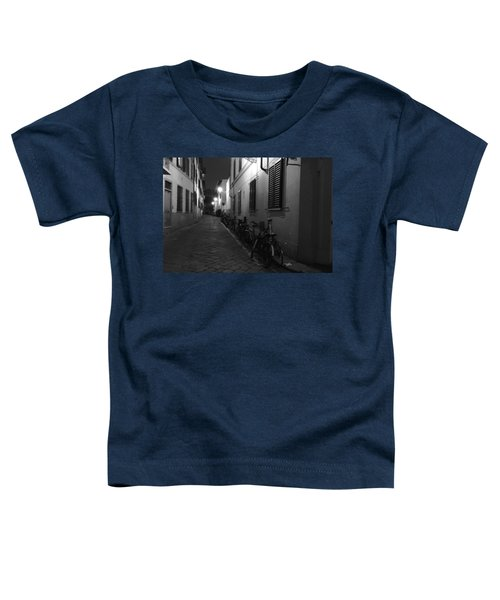 Bike Lined Alley Toddler T-Shirt