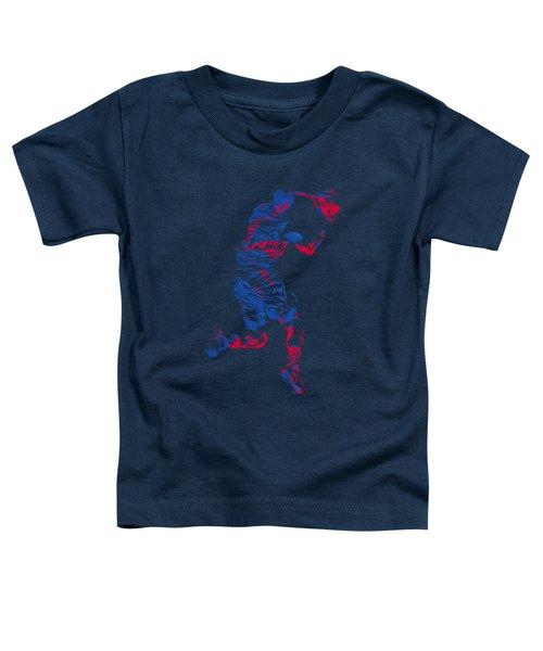 Blake Griffin Clippers Pixel Art T Shirt Toddler T-Shirt