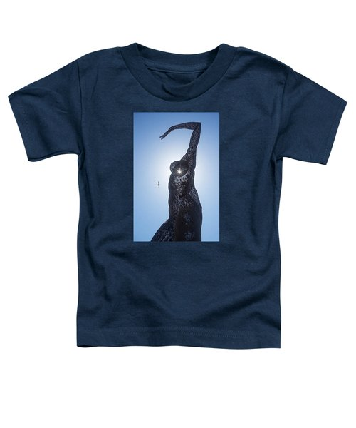 Toddler T-Shirt featuring the photograph Bliss Dancer by Lora Lee Chapman