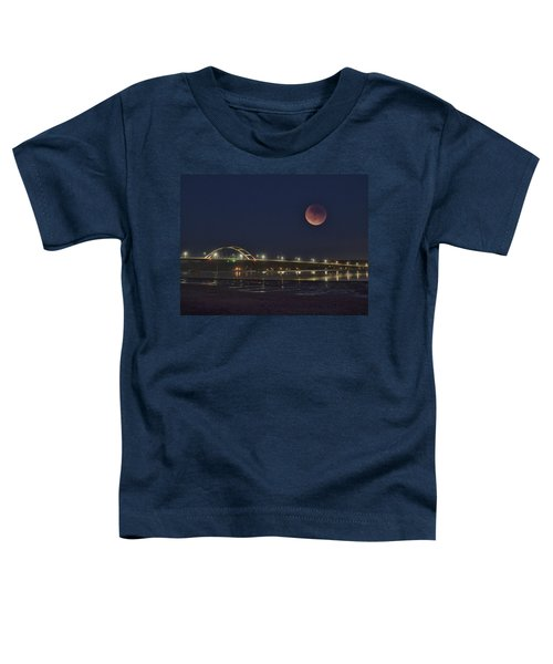 Blood Moon Over Alsea Bay Toddler T-Shirt