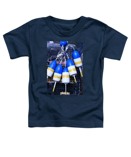 Blue And Gold Bouys Toddler T-Shirt