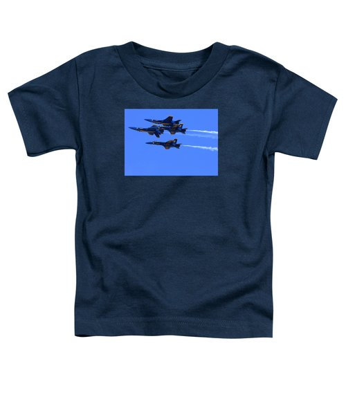 Blue Angels Perform Over San Francisco Bay Toddler T-Shirt