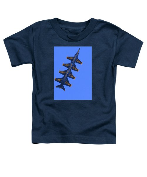 Blue On Blue Toddler T-Shirt