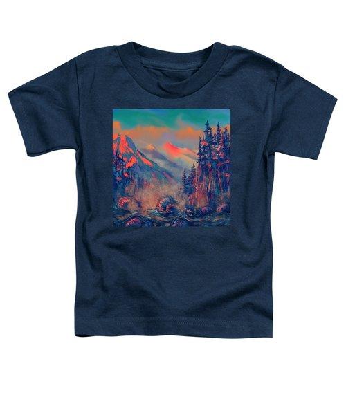 Blue Silence Toddler T-Shirt