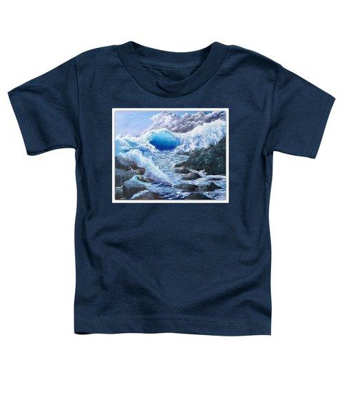 Blue Storm Toddler T-Shirt
