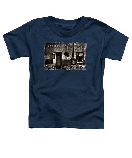 Bodie Hotel Dining Room With Pool Table Toddler T-Shirt