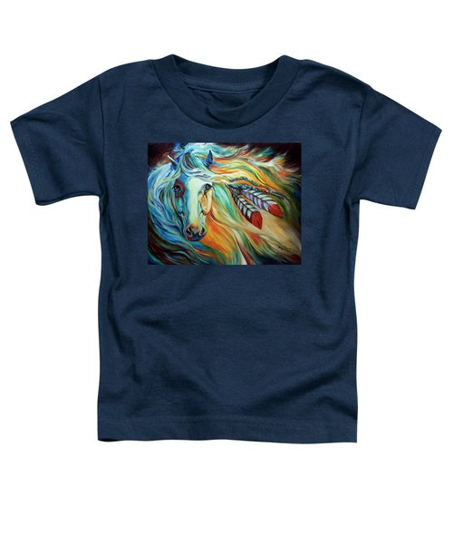 Breaking Dawn Indian War Horse Toddler T-Shirt