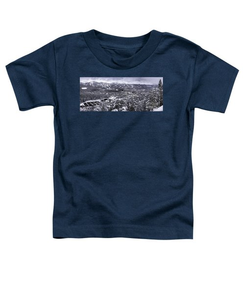 Breckenridge Ski Area Toddler T-Shirt