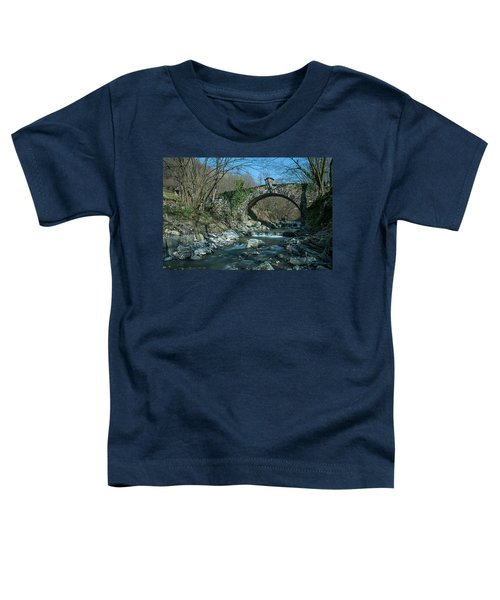 Bridge Over Peaceful Waters - Il Ponte Sul Ciae' Toddler T-Shirt