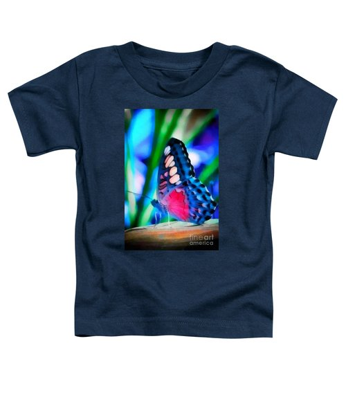 Butterfly Realistic Painting Toddler T-Shirt