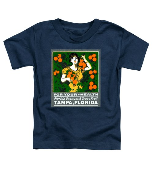 C.1920 Tampa For Your Health Toddler T-Shirt