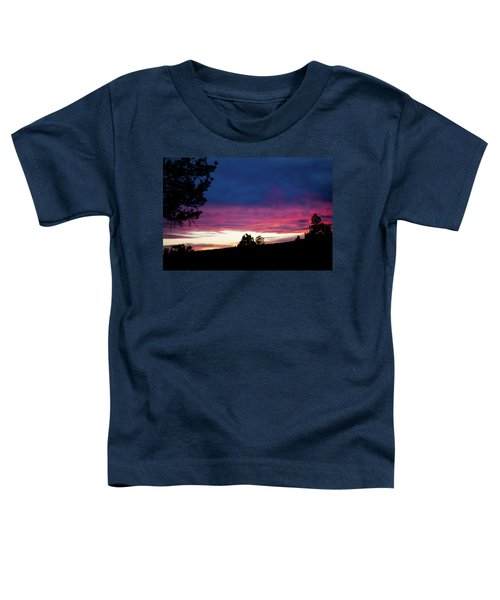 Candy-coated Clouds Toddler T-Shirt