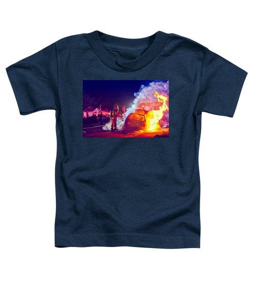Car Arson  Toddler T-Shirt