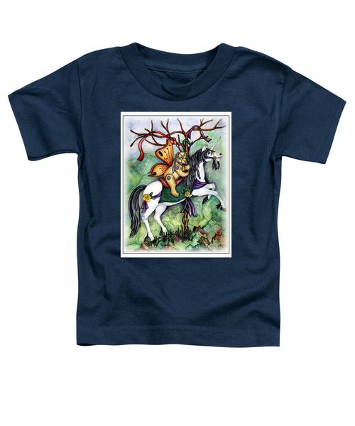 Carousel Unicorn Toddler T-Shirt