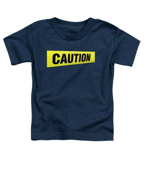 Caution Tape Toddler T-Shirt