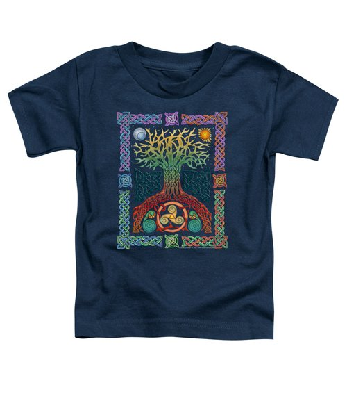 Celtic Tree Of Life Toddler T-Shirt