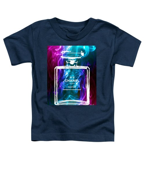 Chanel No. 5 Colorful Smoke Toddler T-Shirt