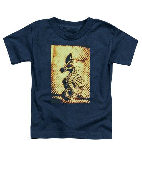 Charming Vintage Seahorse Toddler T-Shirt