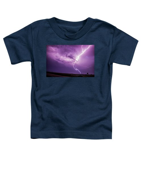 Chasing Nebraska Lightning 018 Toddler T-Shirt