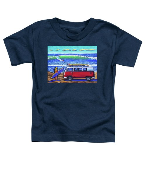 Checking Out The Waves Toddler T-Shirt
