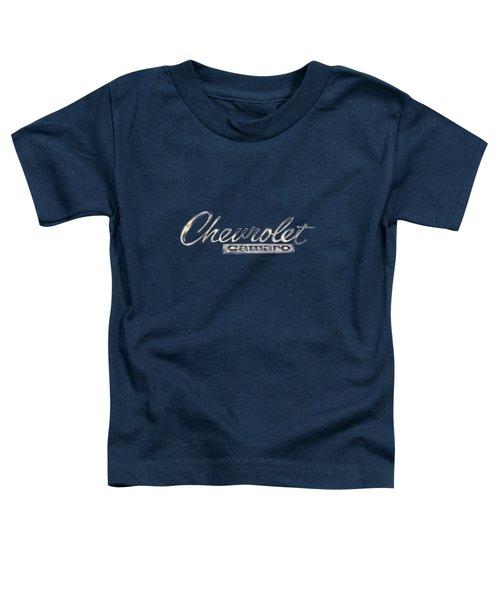 Chevrolet Camaro Badge Toddler T-Shirt
