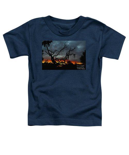 Chilling Sunset Toddler T-Shirt