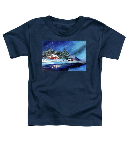 Christmas Eve Toddler T-Shirt