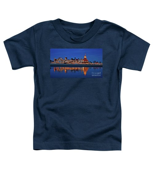 Christmas Lights At The Hotel Del Coronado Toddler T-Shirt