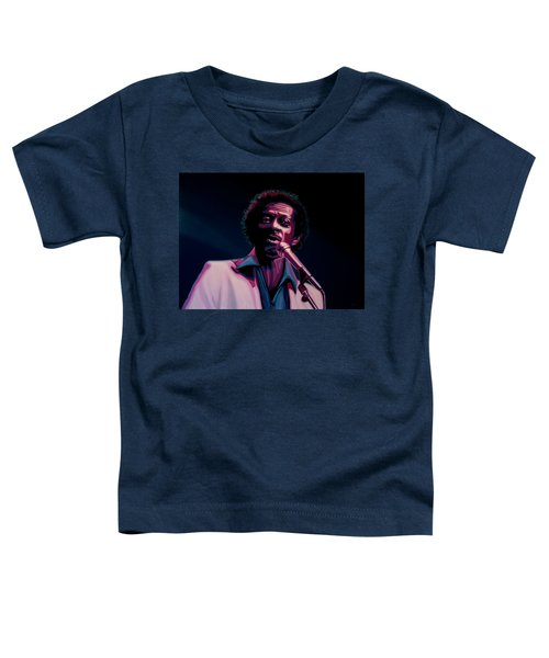 Chuck Berry Toddler T-Shirt by Paul Meijering