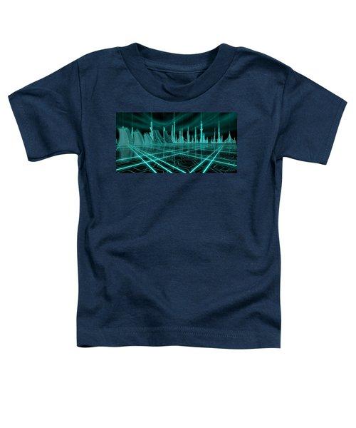 Cityscape 2010 Alpha Toddler T-Shirt