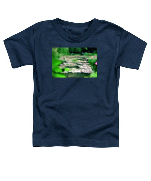 Toddler T-Shirt featuring the photograph Claude Monets Water Garden Giverny 1 by Dubi Roman