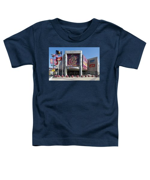 Cleveland Cavaliers The Q Toddler T-Shirt