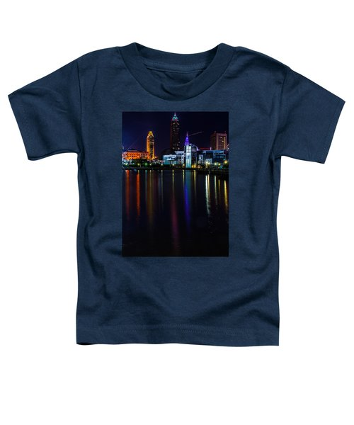 Cleveland Nightly Reflections Toddler T-Shirt