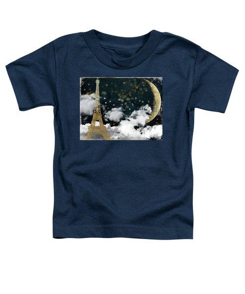 Cloud Cities Paris Toddler T-Shirt