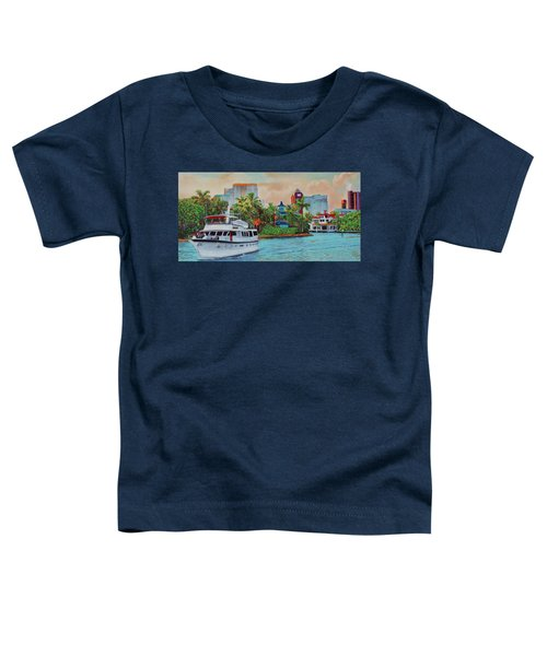 Cocktails On The New River Toddler T-Shirt