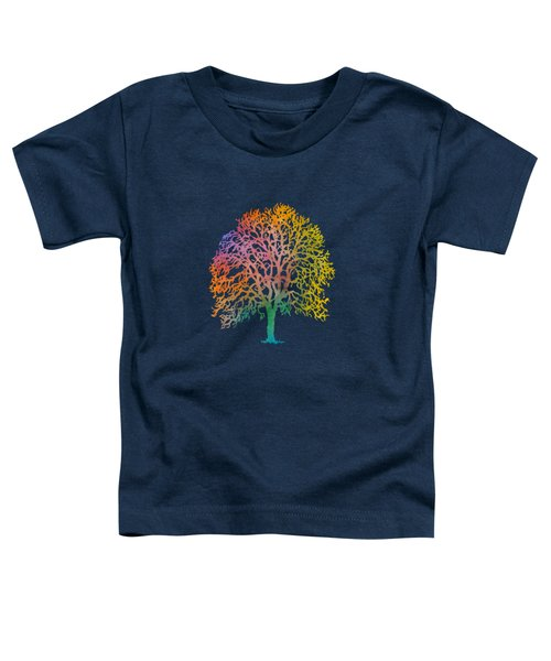 Color Abstract Painting Toddler T-Shirt