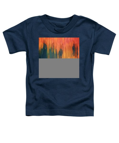 Color Abstraction L Sq Toddler T-Shirt