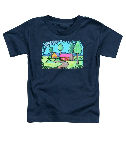 Houses And Trees Toddler T-Shirt