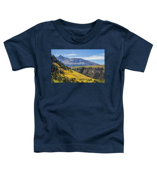 Colorful Mountains Near Telluride Toddler T-Shirt
