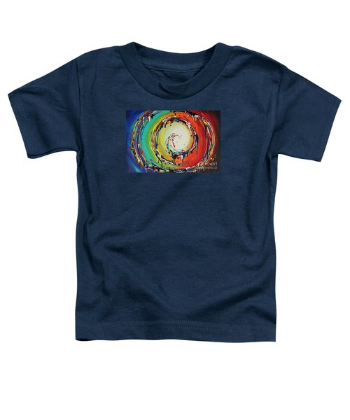 Colorful Swirls Toddler T-Shirt
