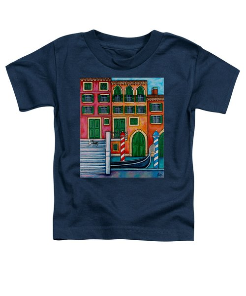 Colours Of Venice Toddler T-Shirt