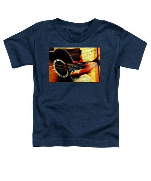 Composing Hallelujah. Music From The Heart  Toddler T-Shirt