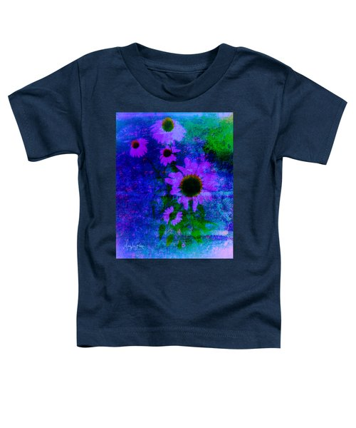 Coneflowers Abstract Toddler T-Shirt