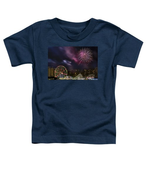 Coney Island Fireworks Toddler T-Shirt