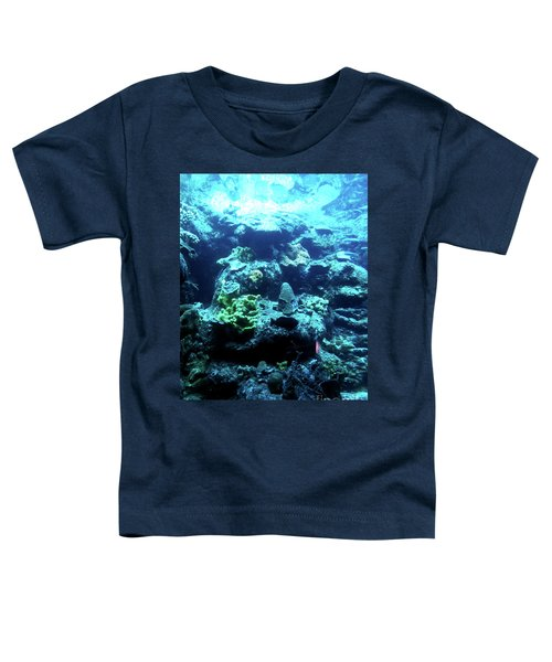 Toddler T-Shirt featuring the photograph Coral Art 4 by Francesca Mackenney