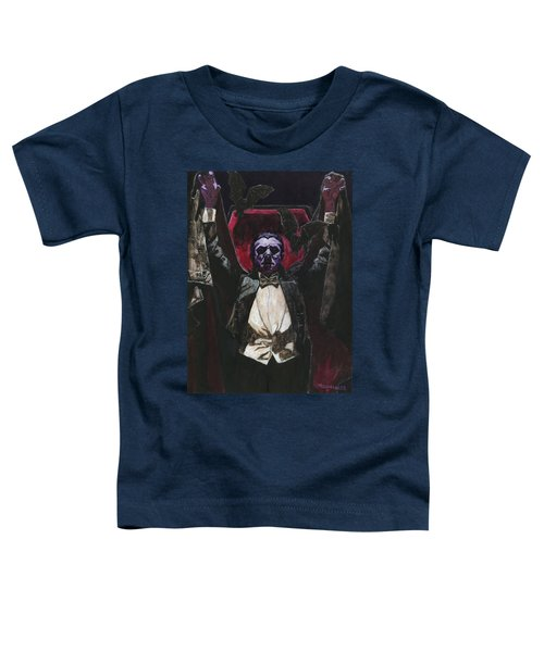 Count Dracula 1931 Bela Lugosi Toddler T-Shirt